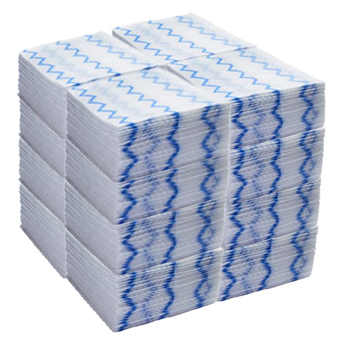ラバーメイド ディスポーサブル マイクロファイバー クロス ブルー 640枚